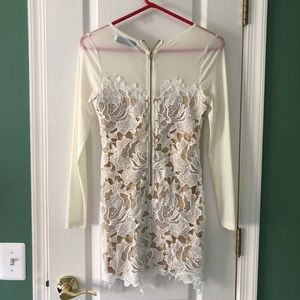 Nasty Gal Dresses - Nasty Gal long sleeve lace dress